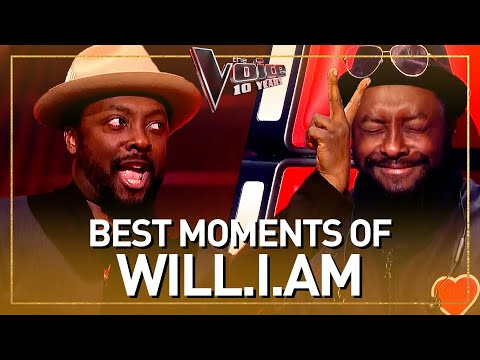 (New) Our 10 favorite moments of coach will.i.am in the voice