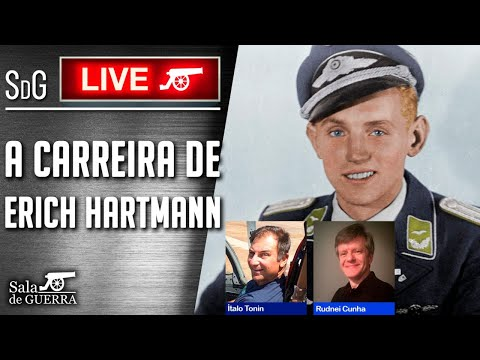 (HD) 🔴 sdg live - a carreira do major erich hartmann