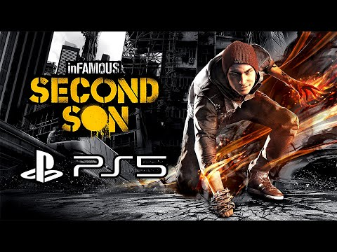 (New) Infamous second son - gameplay on ps5 (4k, no commentary)