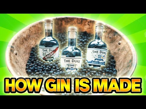 (HD) How gin is made