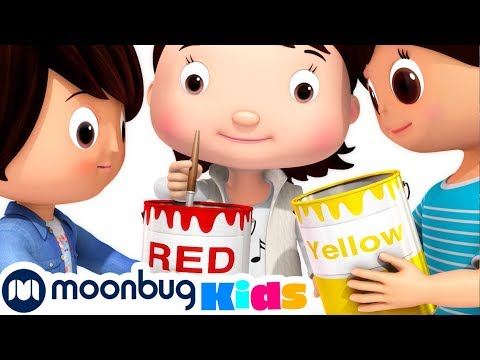 (Ver Filmes) Color mixing song - learning colors for kids | little baby bum | cartoons and kids songs