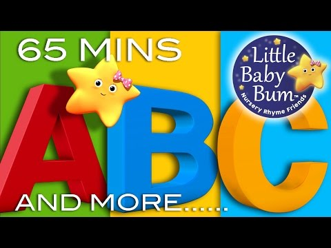 (Ver Filmes) Abc alphabet songs | and more abc songs! | learning songs 65 minutes compilation from littlebabybum!