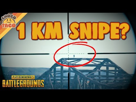 (New) Okay it was only 983 meters - chocotaco pubg gameplay
