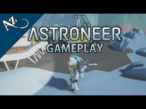 (New) Astroneer gameplay walkthrough [no commentary - hd 1080p 60fps] - early access