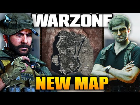 (New) Call of duty warzone: the secret new map coming to warzone!