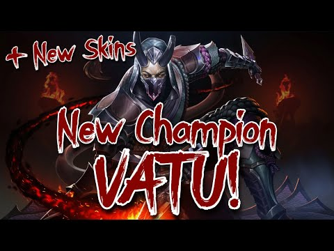 (New) New champion vatu! - shadow update patch notes review (part 1)