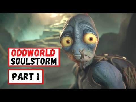 (New) Oddworld soulstorm gameplay walkthrough part 1 level 1 2 [pc hd 60fps] - no commentary