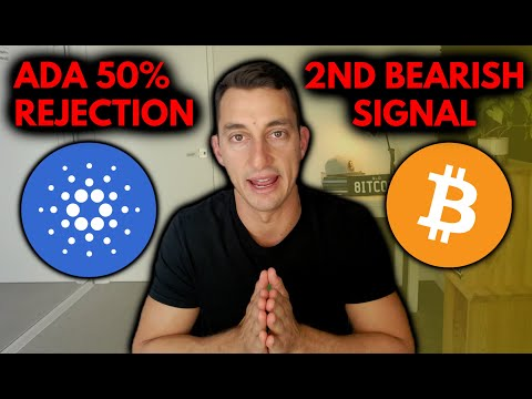 (New) Cardano [ada] rejected at 50% | bitcoins weak signal, ethereum e crypto price updates for investors