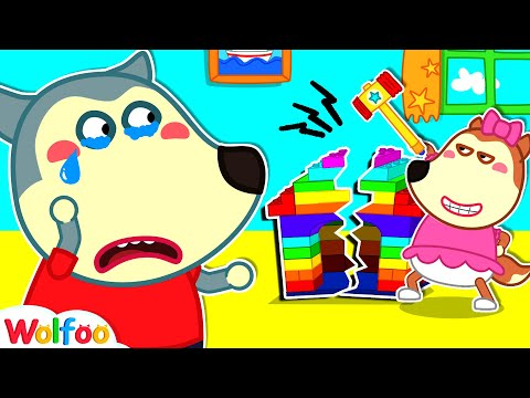 (Ver Filmes) Lucy, stop breaking colorful lego playhouse - wolfoo learns good behavior for kids | wolfoo channel