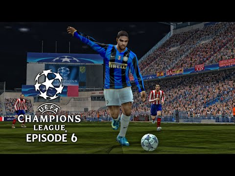 (New) Pes 6 - uefa champions league 08 09 episode 6: quarter finals 1st leg!