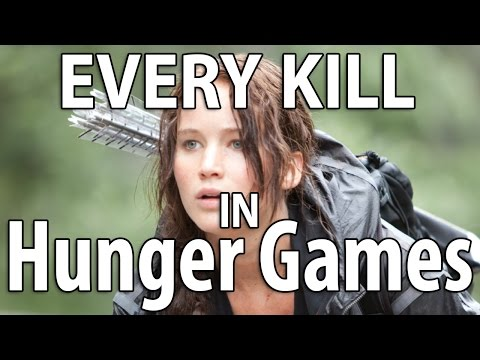 (New) Every kill in the hunger games | movie murders reviewed | jennifer lawrence parody