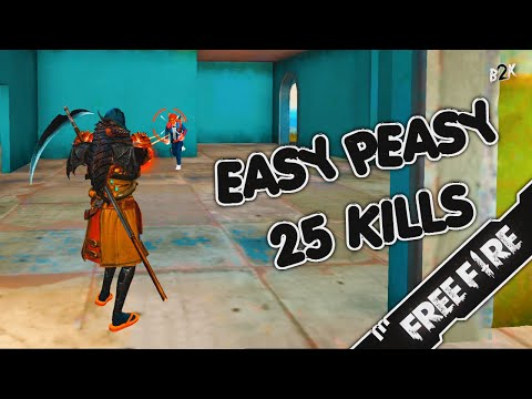 (New) [b2k] فقدت السيطرة | easy peasy 25 kills gameplay