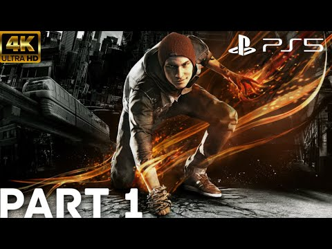 (New) Infamous second son ps5 gameplay walkthrough part 1 - the beginning [4k 60fps] - no commentary
