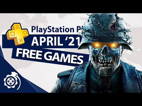 (New) Playstation plus (ps4 and ps5) april 2021 (ps+)