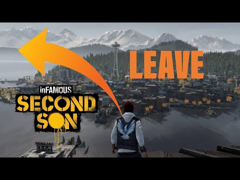 (New) Infamous second son: how to leave seattle and get a secret power *2020*