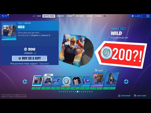(VFHD Online) Fortnite just released a battle pass exclusive item.... in the item shop!