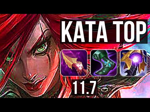 (New) Katarina vs malphite (top) | 3.1m mastery, quadra, 8 1 1, 400+ games, godlike | euw diamond | v11.7