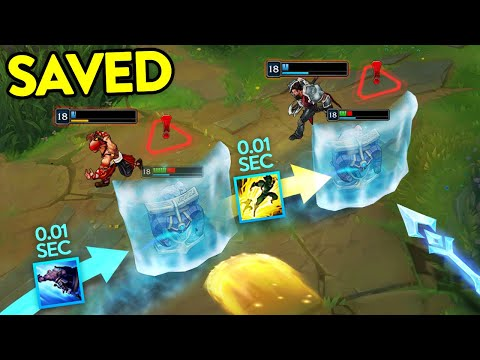 (VFHD Online) When support players are heroes... amazing supports montage (league of legends)