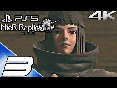 (New) Nier replicant ps5 gameplay walkthrough part 3 - barren temple e forest of myth (4k 60fps) full game