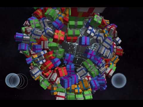(New) Blowing up 10,000 presents in solar smash