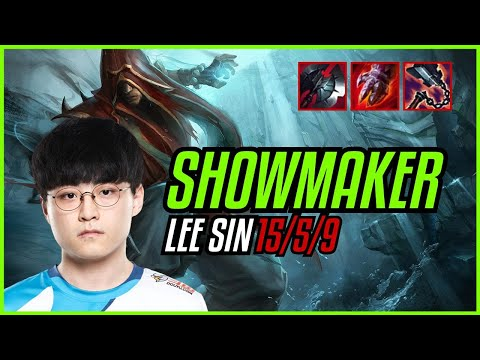 (New) Showmaker - lee sin vs cryin - sylas mid - euw master - patch 11.9