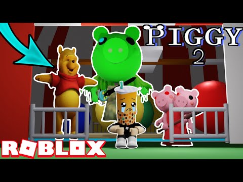 (HD) Visiting fake roblox piggy book 2 games! (funny moments)