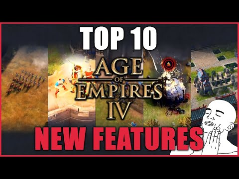 (New) Top 10 new gameplay features in age of empires 4