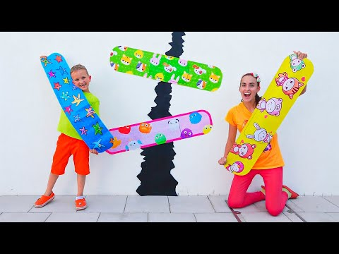 (Ver Filmes) Vlad and mom funny stories with sticky tape