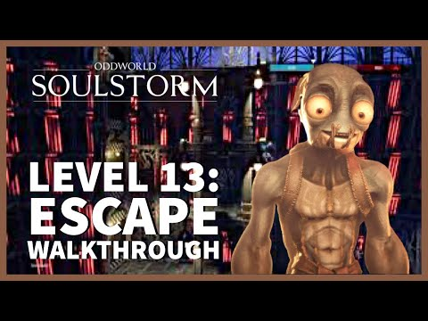 (New) Oddworld soulstorm 100% walkthrough gameplay ps5 | level 13: all mudokons, secret areas, royal jelly