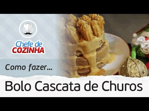 (New) 🔥bolo de churros fácil com chef kadu barros