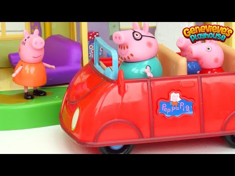 (Ver Filmes) Best ♥peppa pig♥ toy learning videos for kids - new house and babysitting baby alexander!