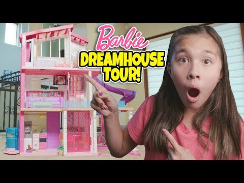 (New) Jillians barbie dreamhouse tour!