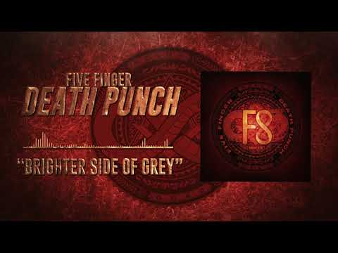 (New) Five finger death punch - brighter side of grey (official audio)