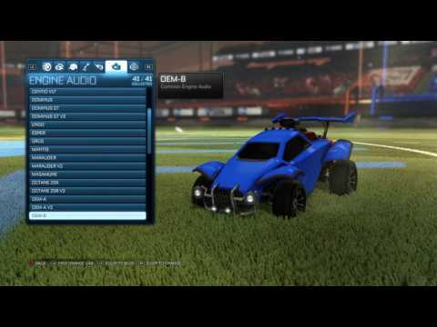 (New) Rocket league®: all engine audio (overdrive update)
