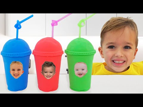 (Ver Filmes) Vlad and niki pretend play with baby chris | funny stories for kids