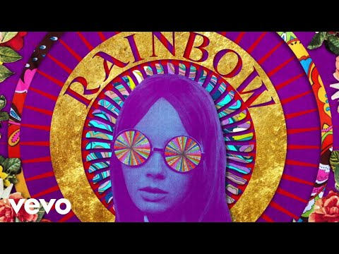 (New) The rolling stones - shes a rainbow (official lyric video)