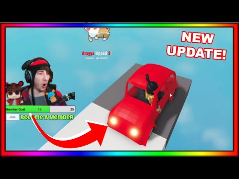(HD) Kreekcraft reacts to piggy build mode new update! (drivable cars, new npcs and more!)