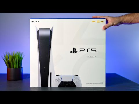 (New) Sony playstation 5 - ps5 unbox e setup