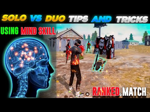 (New) Solo vs duo tips and tricks free fire 🔥  free fire solo vs duo tips   how to play solo vs duo   2021