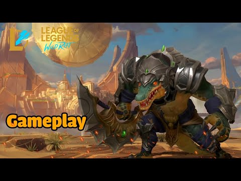 (New) League of legends: wild rift | gameplay renekton