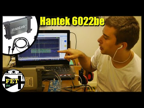 (HD) Hantek 6022be unboxing and review