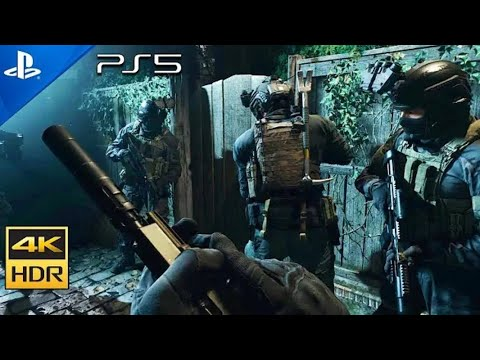 (New) Clean house [ps5 hdr 4k] next-gen ultra realistic graphics playstation 5 call of duty gameplay