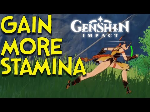 (New) Genshin impact : how to get more stamina in genshin impact tutorial