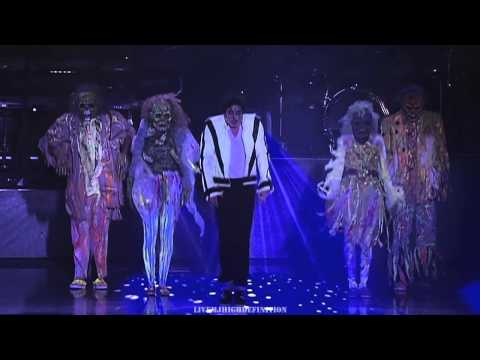 (HD) Michael jackson - thriller - live munich 1997 - widescreen hd