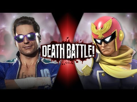 (New) Johnny cage vs captain falcon (mortal kombat vs f-zero) | death battle!