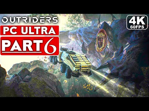 (New) Outriders gameplay walkthrough part 6 [4k 60fps pc ultra] - no commentary (full game)