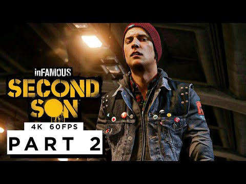 (New) Infamous second son ps5 walkthrough gameplay part 2 - (4k 60fps)