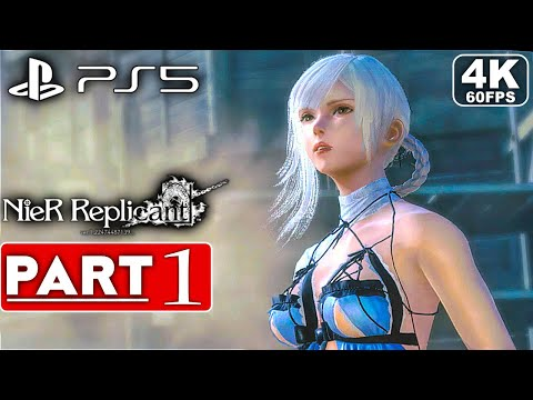 (New) Nier replicant ps5 gameplay walkthrough part 1 [4k 60fps] - no commentary (full game)