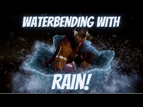 (New) The fastest water bender alive - rain gameplay [ft. empr conflictus, onlyoneant and laudao] [mk11]