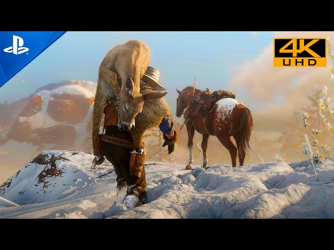 (New) Red dead redemption 2 [ps5 hdr 4k] next-gen ultra realistic graphics playstation 5 gameplay